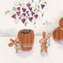 .. Doodle 112/365 - Stichwort: Weintrauben