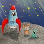 .. Doodle 102/365 - Stichwort: Rakete