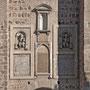 PUENTE DE ALCÁNTARA. Fachada que mira hasta la ciudad. Esculturas de reyes, un portal para estancia de guardas y portazgueros con un mirador puesto en 1575 por el corregidor Gutiérrez Tello.