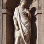 PUERTA DEL CAMBRÓN. Imagen de Santa Leocadia, patrona de la Ciudad. Atribuida a Juan Bautista Monegro, 2576.