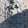 PUERTA DE BISAGRA. Fachada norte. En cada cubo un escudo con un rey sentado en una silla.