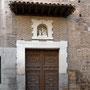CONVENTO - COLEGIO DE LA MILAGROSA. Entrada a la iglesia. Calle Nuñez de Arce.