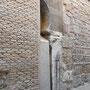 IGLESIA DE SANTAS JUSTA Y RUFINA. Fragmento de arco vinculado al periodo islámico sobre una pilastra visigoda.