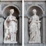 Antiguo CONVENTO DE SAN PEDRO MARTÍR. Las esculturas de la Caridad y la Fe son obra de Jaques Roy.
