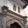 IGLESIA DE SANTA JUSTA Y RUFINA. Alonso de Covarrubias, hacia 1530. En las hornacinas las esculturas de las santas titulares.