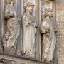 CATEDRAL. PUERTA DEL PERDÓN. Apóstoles en las arquivoltas. Escultor: Juan Alemán, 1462.