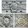 CATEDRAL. PUERTA DE LOS LEONES. La Puerta, chapada de bronce.
