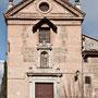CONVENTO DE SAN JOSÉ DE LAS CARMELITAS DESCALZAS. Portada de la iglesia. Siglo XVII.