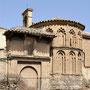 Antigua ERMITA DE SAN EUGENIO. Edificio de principios del siglo XIII. La portada es del siglo XVI.