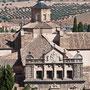 HOSPITAL DE SANTA CRUZ. Vista desde el Alcázar.