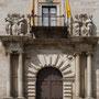 PALACIO ARZOBISPAL. Traza: Alonso de Covarrubias, mitad del siglo XVI. Maestros de obra: Hernán González de Lara y Pedro de Velasco.