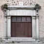 Proviene del antiguo CONVENTO DE LA SANTÍSIMA TRINIDAD (demolido en 1935). Siglo XVI. Calle de Gerardo Lobo
