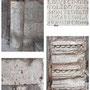 PUERTA DEL CAMBRÓN. Piedras con decoración romana, visigoda y cipos reutilizados.