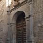IGLESIA DE SANTA MARÍA MAGDALENA. Destruida la portada del siglo XVIII en 1936, la actual procede de una casa particular.