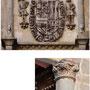 POSADA DE LA HERMANDAD. Siglo XV. Escudo de los Austrias de madera, sobrepuesto en época posterior.