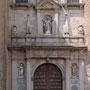 Antiguo CONVENTO DE SAN PEDRO MARTÍR. Portada de la iglesia. Traza: Juan Bautista Monegro, 1628.