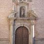 CONVENTO DE LA PURÍSIMA CONCEPCIÓN DE NUESTRA SEÑORA - BENITAS. Iglesia conventual. Traza: José Ortega. Inmaculada: Manuel Correa. Bajada del Barco.