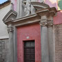 Antiguo CONVENTO DE SAN TORCUATO. Entrada a la iglesia. Traza: Manuel Theotocópuli, 1615. Realización: Francisco Espinosa.