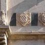 PALACIO DE FUENSALIDA. Escudos de los fundadores del palacio.