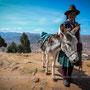 Les hauteurs - Puno - Pérou