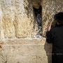 Mur des Lamentations - Jérusalem - Israël
