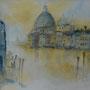"""ART HFrei - """"Venedig - Salute"""" - Aquarell - 2016"""