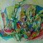 """ART HFrei - """"Party im Aquarium"""" - Aquarell - 2013"""