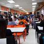 Gewöhnungsbedürftig - Magie Food Point in einer versteckten Ecke des Flughafens Don Mueang.