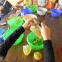 Zitronen zerkleinern