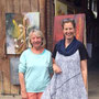 ganz netter Besuch von Eva-Maria Bättig und ihrem Mann - danke vielmal