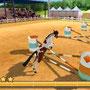 """2in1: Mein Fohlen 3D + Mein Reiterhof – Rivalen im Sattel (Screenshot aus """"Mein Reiterhof – Rivalen im Sattel"""")"""