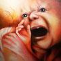 """""""Nicht in diese Welt"""" von WHY - 2014, Acryl auf Leinen, 120 x 100"""