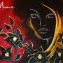 """""""Gold"""" von Magenta - 2013, Acryl auf Leinen, 80 x 80"""