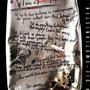 """""""If I was"""" aus der Serie """"Undekalog 8"""" von Frenzy O. - 2014,  Acryl und Lack auf Metall, 20 x 28"""