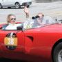 Der ehemalige Formel 1 Fahrer Arturo Merzario in einem seltenen Alfa