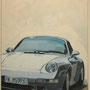 Porsche 993 S2 von Herbert 100x120 Acryl auf Leinwand 2012