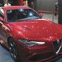 Die neue Giulia auf dem Alfa Romeo Stand