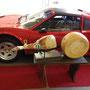 Der original Schinken und Käse im Urzustand noch in Grazianos Garage
