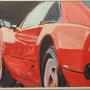 Ferrari 208 Turbo GTS von Graziano 80x60 Acryl auf Malplatte 2011