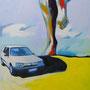 Bernd in Bewegung 60x80 Acryl auf Malplatte 2012