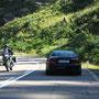 Rückfahrt Richtung Bruneck