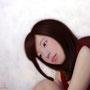 「この余白にたりないもの・・・」 6号P(41.0×27.3cm) 油彩画