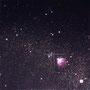 「Star Diagrm ... The Black Blank」/10号S(53.0×53.0cm)/油彩画、金箔、銀箔、プラチナ箔、アルミ箔、黒箔