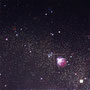 「Star Diagrm ... The Black Blank」/10号S(53.0×53.0cm)/油彩、金箔、銀箔、プラチナ箔、アルミ箔、黒箔、キャンバス、パネル