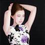 「余白の創造 ... 君と黎明の春」/100号P(112.0×162.0cm)/油彩、黒箔、キャンバス、パネル