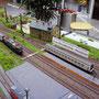 Einfahrt der RoLa in den Hauptbahnhof
