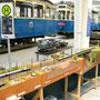 """Zugbegegnung auf der Hauptstrecke """"Touropa"""" und """"Touristik Express"""""""