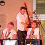 Big Band 13 2016 - Martine Batot, sax tenor - Maryline Guitou, sax alto - Olivier Lalauze, contrebasse