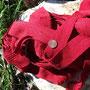 Ripsband als Nachrüstsatz für römische Tuniken in Rot