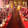 Mönche beim Meditieren